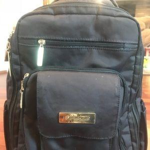 Ju Ju Be Black Backpack Diaper Bag